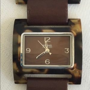 Michael Kors Brown Leather Watch